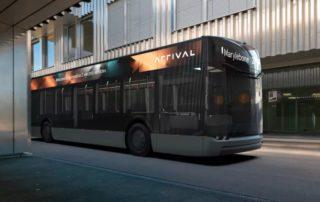 Arrival segunda generación de autobuses eléctricos