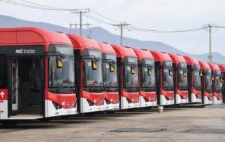 Enel X operará 150 nuevos autobuses BYD en Santiago de Chile