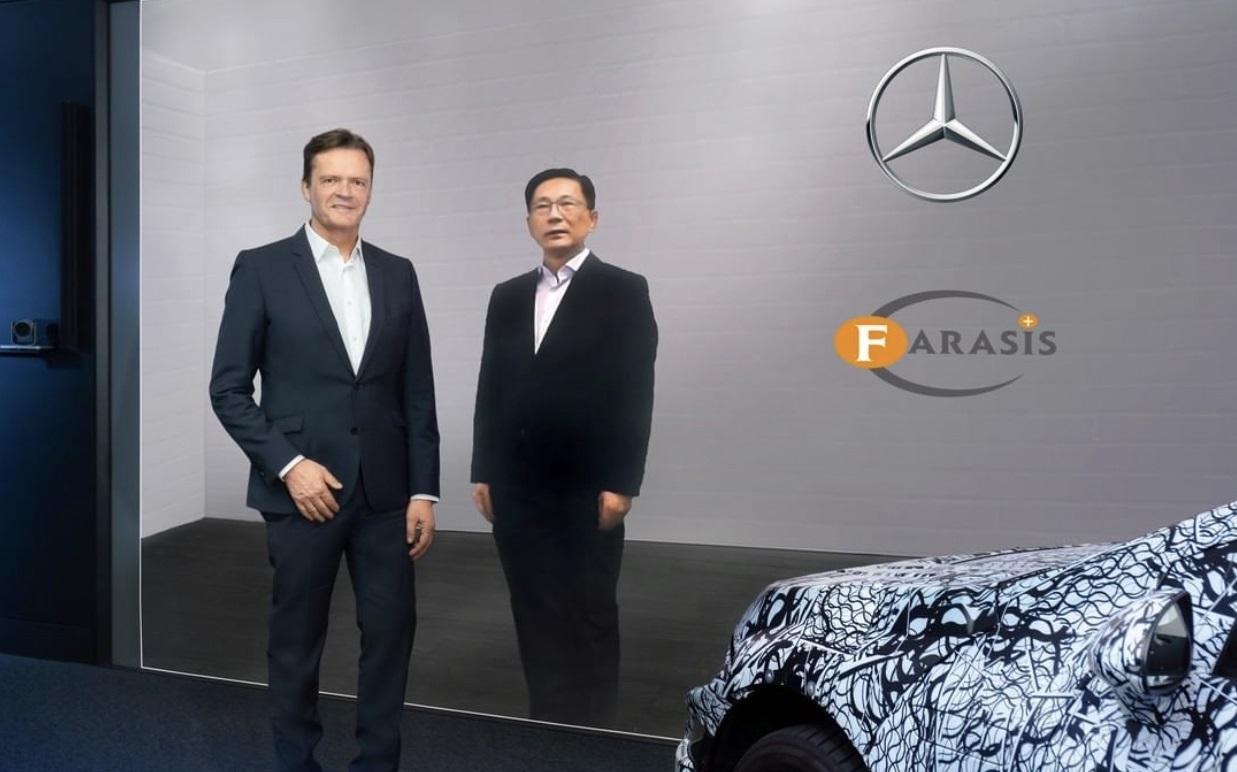 Mercedes Benz establece alianza con Farasis