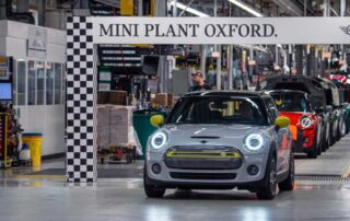 Mini llega a las 11000 unidades producidas de su modelo 100% eléctrico