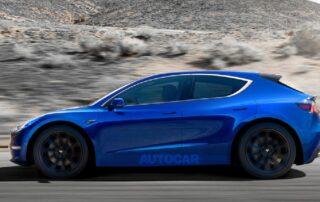 Tesla planea sacar un Model 3 Hatchback económico para competir con el ID-3 de Volkswagen