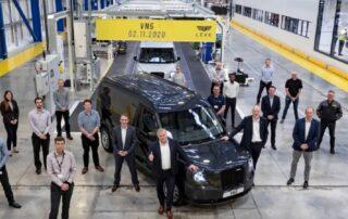 LEVC anuncia el arranque de producción en su planta del Reino Unido